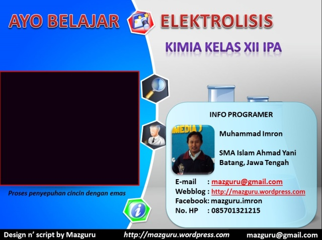 Awal MPI Elektrolisis